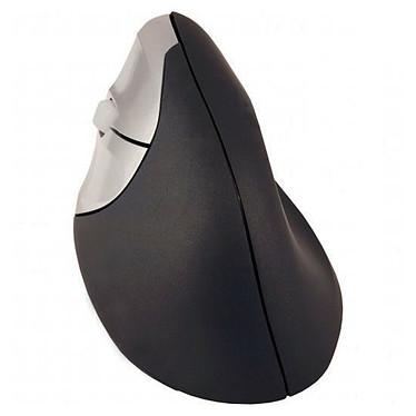 Urban Factory Ergo Mouse (pour gaucher) Souris filaire ergonomique - gaucher - capteur optique 1600 dpi - 3 boutons - verticale