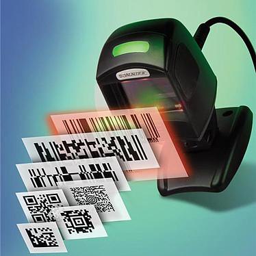 Acheter Datalogic Magellan 1100i 1D (coloris noir) + support + câble USB