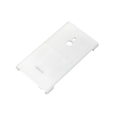 Nokia Hard Cover en cuir CC-3037 Blanche