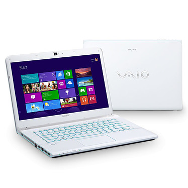 Sony VAIO E14A3V1E/W Blanc pas cher