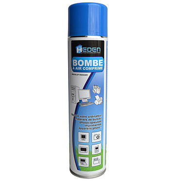 Heden Bombe à air comprimé 600 mL