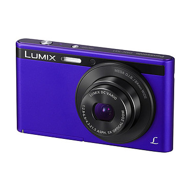 Panasonic DMC-XS1 Violet Appareil photo 16.1 MP - Zoom 5X - Video HD 720p