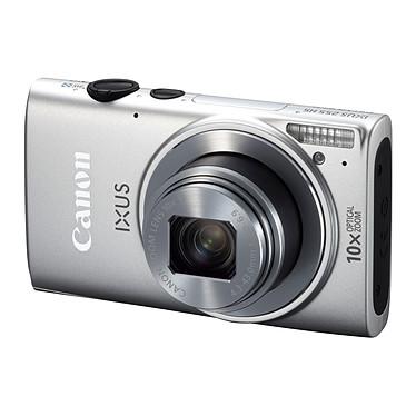 Canon IXUS 255 HS Argent Appareil photo 12.1 MP - Zoom grand angle 10x - Vidéo Full HD - Wi-Fi