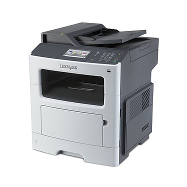 Lexmark MX410de Imprimante Multifonction laser monochrome 4-en-1 (USB 2.0 / Ethernet)