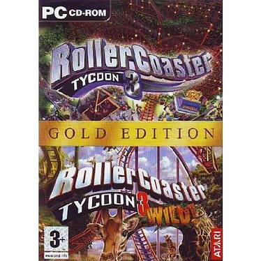 Roller Coaster Tycoon 3 Gold (PC)