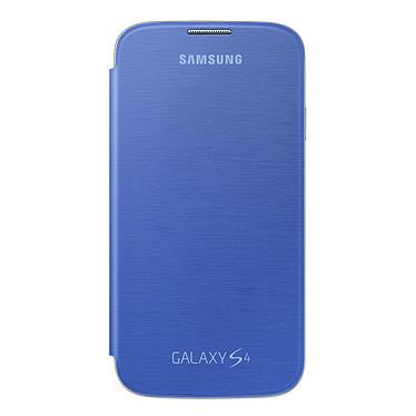 Samsung EF-FI950B - Etui Flip Cover Bleu pour Galaxy S4 Etui Folio pour Samsung Galaxy S4 GT-i9500/9505