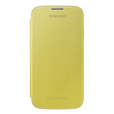 Samsung Flip Cover Jaune Galaxy S4