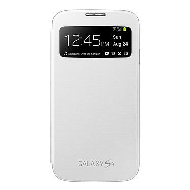 Samsung EF-CI950W - Etui S-View Blanc pour Galaxy S4