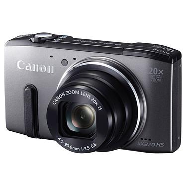 Canon PowerShot SX270 HS Gris Appareil photo 12.1 MP - Zoom 20x - Vidéo HD