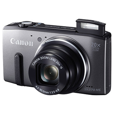 Canon PowerShot SX270 HS Gris pas cher