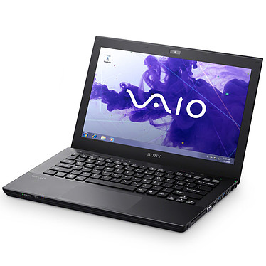 """Sony VAIO S1311P9E/B Intel Core i5-3210M 6 Go 640 Go 13.3"""" LED NVIDIA GeForce GT 640M LE Graveur DVD Wi-Fi N/Bluetooth/3G Webcam Windows 7 Professionnel 64 bits"""