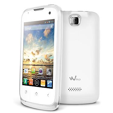 """Wiko Cink + Blanc Smartphone 3G+ Dual Sim avec écran tactile 3.5"""" sous Android 4.1"""