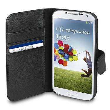 xqisit Folio Wallet Noir Samsung Galaxy S4