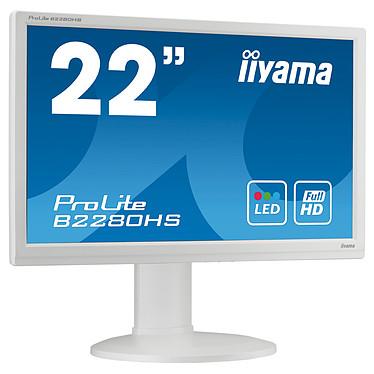 """iiyama 21.5"""" LED - ProLite B2280HS Blanc"""