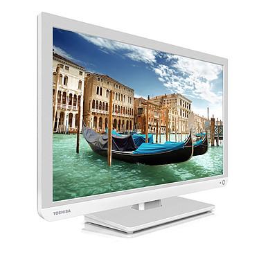 """Toshiba 22L1334G Téléviseur LED 22"""" (55 cm) 16/9 - 1920 x 1080 pixels - Tuner TNT HD et Câble - HDTV 1080p - USB"""