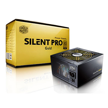 Cooler Master Silent Pro Gold 550W 80PLUS Gold Alimentation 550W ATX12V V2.3 / EPS12V V2.92 - 80PLUS Gold