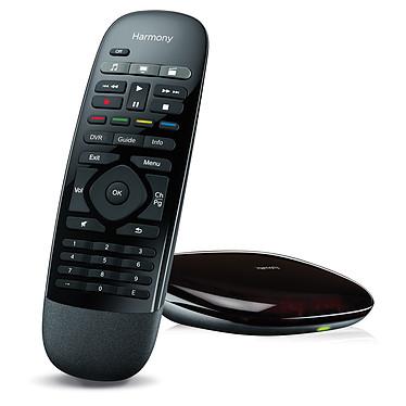 Logitech Harmony Smart Control Télécommande universelle avec récepteur RF - 8 appareils supportés (compatible smartphone iOS et Android) (version Française)