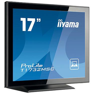 "iiyama 17"" LCD Tactile - ProLite T1732MSC 1280 x 1024 pixels - Tactile - 5 ms - Format 4/3 - Noir"