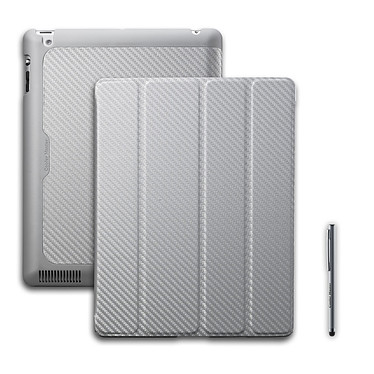 Cooler Master Wake Up Folio Carbon Texture Silver White