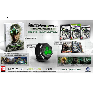 Splinter Cell : Blacklist - Ultimatum Edition (PC)