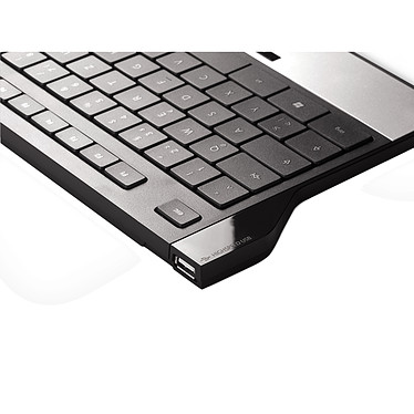 Cherry EasyHub Corded MultiMedia Keyboard pas cher