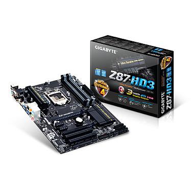 Gigabyte GA-Z87-HD3 Carte mère ATX Socket 1150 Intel Z87 Express - SATA 6Gb/s - USB 3.0 - 2x PCI-Express 3.0 16x