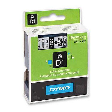 DYMO Ruban D1 Standard - noir/transparent 19 mm - 7 m