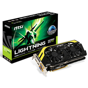MSI GeForce GTX 770 Lightning LE 2GB