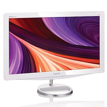 """Philips 23.6"""" LED - 248C3LHSW 1920 x 1080 pixels - 2 ms (gris à gris) - Format large 16/9 - HDMI - Blanc"""