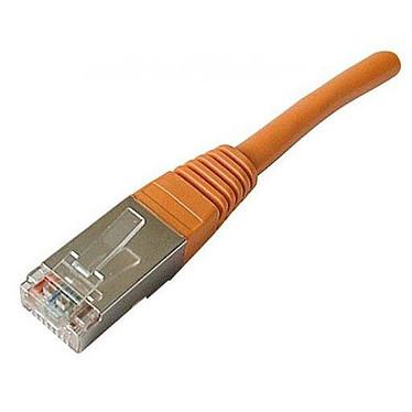 Câble RJ45 catégorie 6 SSTP 0.5 m (Orange)
