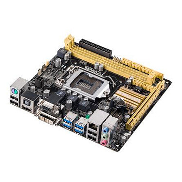 ASUS H87I-PLUS C2 Carte mère Mini-ITX Socket 1150 Intel H87 Express - SATA 6Gb/s - USB 3.0 - 1x PCI-Express 3.0 16x