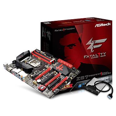 ASRock Fatal1ty Z87 Professional Carte mère ATX Socket 1150 Intel Z87 Express - SATA 6Gb/s - USB 3.0 - 2x PCI-Express 3.0 16x + 1x PCI-Express 2.0 16x
