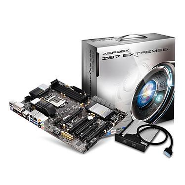 ASRock Z87 Extreme6 Carte mère ATX Socket 1150 Intel Z87 Express - SATA 6Gb/s - USB 3.0 - 2x PCI-Express 3.0 16x + 1x PCI-Express 2.0 16x