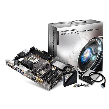 ASRock Z87 Extreme6/AC Carte mère ATX Socket 1150 Intel Z87 Express - SATA 6Gb/s - USB 3.0 - 2x PCI-Express 3.0 16x + 1x PCI-Express 2.0 16x - Wi-Fi AC/Bluetooth