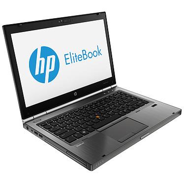 "HP EliteBook 8470w (LY544ET) Intel Core i7-3630QM 4 Go 500 Go 14"" LED AMD FirePro M2000 Graveur DVD Wi-Fi N/Bluetooth Webcam Windows 7 Professionnel 64 bits + Windows 8 Pro 64 bits"