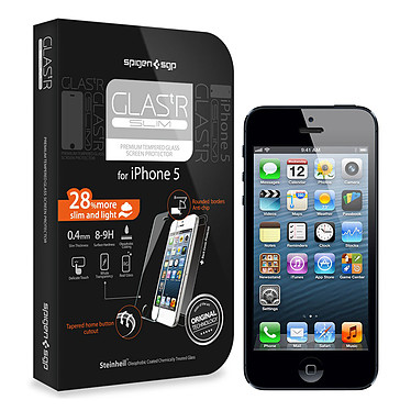 Spigen GLAS.tR SLIM pour iPhone 5
