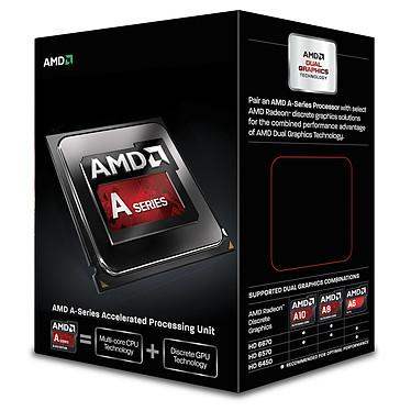 AMD A8-6600K (3.9 GHz) Black Edition Processeur Quad Core socket FM2 Cache L2 4 Mo Radeon HD 8570D 0.032 micron (version boîte - garantie constructeur 3 ans)