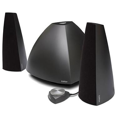 Edifier Prisma Noir Enceintes 2.1 avec télécommande filaire