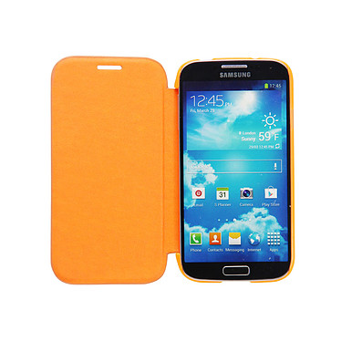 Case Scenario Bookcase Orange Samsung Galaxy S4