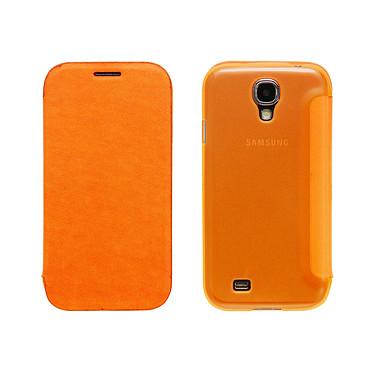 Avis Case Scenario Bookcase Orange Samsung Galaxy S4