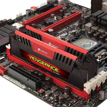 Corsair Vengeance Pro Series 8 Go (2 x 4 Go) DDR3L 2133 MHz CL11 Red pas cher