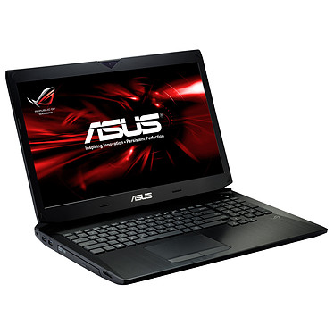 "ASUS G750JW-T4086H Intel Core i7-4700HQ 8 Go SSD 256 Go + HDD 750 Go 17.3"" LED NVIDIA GeForce GTX 765M Lecteur Blu-ray/Graveur DVD Wi-Fi AC/Bluetooth Webcam Windows 8 64 bits (garantie constructeur 1 an)"