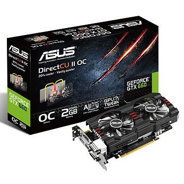 ASUS GeForce GTX660-DC2OCPH-2GD5 2048 Mo Dual DVI/HDMI/DisplayPort - PCI Express (NVIDIA GeForce avec CUDA GTX 660)