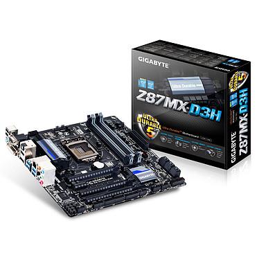 Gigabyte GA-Z87MX-D3H Carte mère Micro ATX Socket 1150 Intel Z87 Express - SATA 6Gb/s - USB 3.0 - 2x PCI-Express 3.0 16x + 1x PCI-Express 2.0 16x