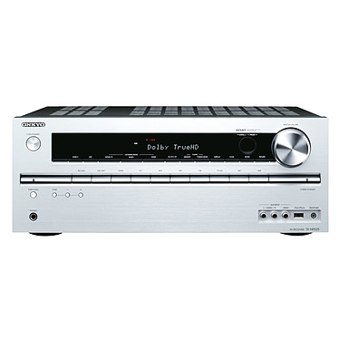 Onkyo TX-NR525 Argent Ampli-tuner Home Cinéma 5.2 DLNA 3D-Ready avec HDMI 1.4