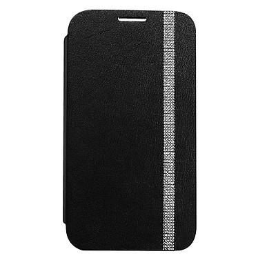 Swarovski Etui Folio Noir pour Galaxy Note II
