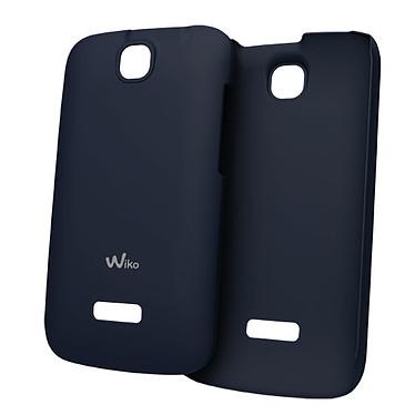 Wiko Coque Ultra Fine Bleu Wiko Cink + Coque pour Wiko Cink +