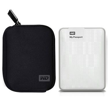 Western Digital My Passport 500 Go Blanc + My Passport Carrying Case (USB 3.0)
