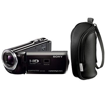 Sony PJ320 Noir + LCS-BBE Noir + Carte SD 16 Go