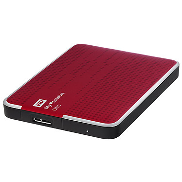WD My Passport Ultra 2 To Rouge (USB 3.0)